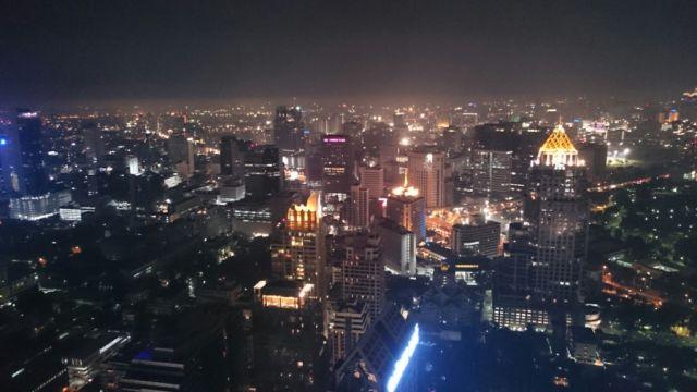 Vistas desde el Moon Bar Vertigo.